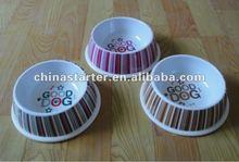 cute pet feeder bowl,dog bowl,plastic bowl for feeding