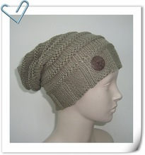 Ladies Acrylic Knitted Hat