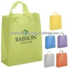 Custom Color Printed OEM Logo HDPE Plastic Retail Shopping Bag