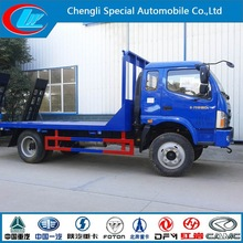 4x2 famous Forland car truck 5 ton car carrier truck ladder flatbed lorry car transporter truck
