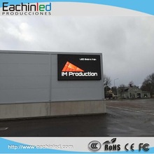 Front Accessible waterproof outdoor full color rgb video led display p16 p10 p8 advertising Sign