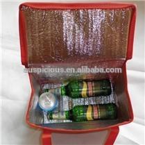 good quality fashion zipper wine bottle bag
