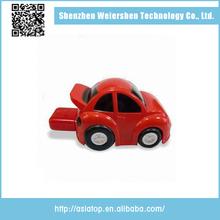2.0 interface gift car shaped plastic usb flash drive