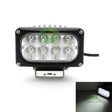 IP68 waterproof ATV led working light 45w 12v square led work light