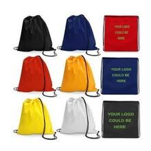 Factory best selling blank drawstring bags