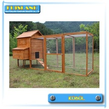 Eco-friendly New design outdoor large wooden pet chicken coop house
