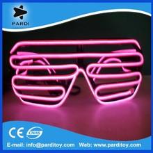Sound active el glasses,el equalizer glasses,el wire glasses