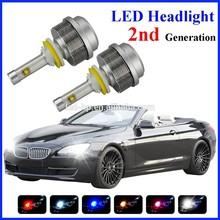 Top Selling 2G High Brightness 30w 3600lm H7 auto led car headlight
