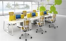 New hot white office desk /mdf furniture