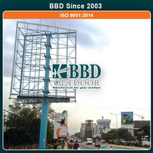Competitive price nice easy assembly Steel Outdoor Building Billboard
