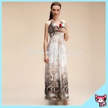 blanco vestido de hawaiano para las mujeres