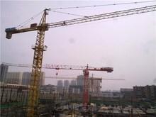 QTZ100 series 6013 crane construction