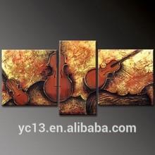 3pcs panel B0261 Factory supply modern handmade group oil painting