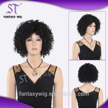 100% Fashinable Fiber afro wig for england