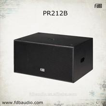 Professional Dual 12 inch Speakers Subwoofer PR212B