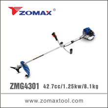 china alibaba 43cc ZMG4301 brush cutter cg430 with small air tank