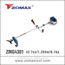 china alibaba 43cc ZMG4301 brush cutter cg430 with small air tank