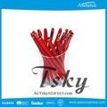 การออกแบบใหม่คริสตัลสีแดงโลโก้ที่กำหนดเองปากกาส่งเสริมการขาย