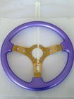2015 hottest aluminium alloy 13 inch steering wheel