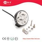 12 Watt round design LED working light spot light 3 watt/pcs
