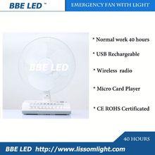 Factory supply rechargetable fan,small electric fan motor,latest model bbq rechargeable fan