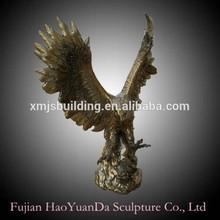 Bronze/Copper Eagle sculpture