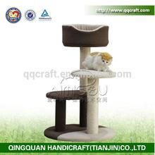 QQdesign factory popular tree cats & pet trees & natural cat tree