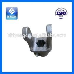 Transmission shaft part spline yoke and automobile parts