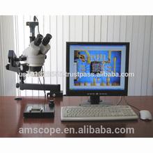 AmScope Supplies 3.5X-90X Articulating Stereo Microscope w 80-LED Light + 3MP USB Digital Camera