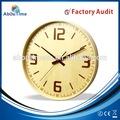16 pulgadas de la naturaleza de madera del reloj de pared / moderno reloj de pared del péndulo / los relojes de pared grande tamaño