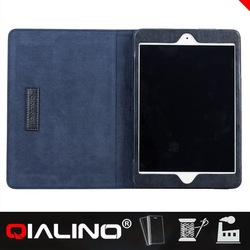 QIALINO 2014 Hot Sales Genuine Leather Smart Case Cover For Ipad Mini
