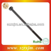 Professional hardened steel bolts black zinc plating hex sockets bolts