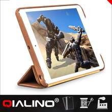 QIALINO Highest Level Comfortable Design World Map Design Leather Case For Ipad Mini