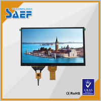 "10.1"" LVDS 1024X 600 with Capacitive touch screen TFT LCD display"