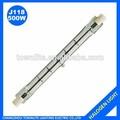 220 - 240 V 500 W 118 MM tubo de la lámpara halógena