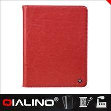 QIALINO Custom Printed Genuine Leather Smart Case For Ipad Air