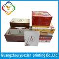China, de calidad alimentaria pastel caja de regalo personalizada proveedor