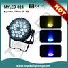18x3W RGB DMX Led Par Stage Laser Indoor Light