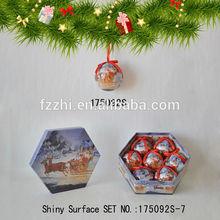 Chinese Style Brand New 7 PCS Polyfoam Christmas Tree Hanging Ball
