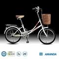 venda quente 3 velocidade de alumínio jantes de liga leve de bicicleta