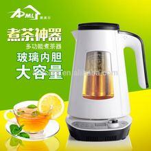Intelligent Temperature control glass electric kettle tea maker, 1632DT