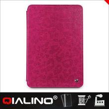 QIALINO Wholesale Customized Logo For Ipad Mini Cover Felt