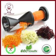 Amazon hot seller kitchen tools handy japanese spiral slicer vegetable spiralizer vegetable fruit spiralizer kitchen tool