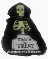 Skeleton Dog Costume Hoodie Black Green Unisex XL Top Pet Shirt/Dog Coats And Jackets