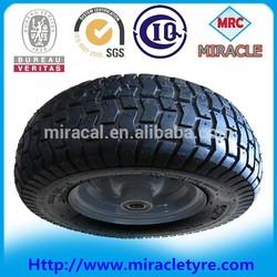 Enduro And Strong small pneumatic rubber wheel wheelbarrow wheel 16 x 6.50-8