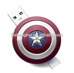 Avenger USB, Captain America shape usb, dual otg usb