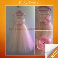 100% cotton girls dress baby frock designs SFUBD-066