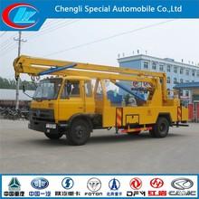 RHD high-altitude working truck dongfeng 4X2 hydraulic aerial bucket truck 10m 12m 14m 16m hydraulic high lift truck