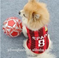 Dog apparel clothes Sports Vest china dog clothes pet apparel & accessories