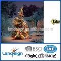 Cixi landsign solar cadena de luces de la serie 4.5m 30 leds de transformador de la luz del árbol de navidad luces para fiestas/decoración del jardín